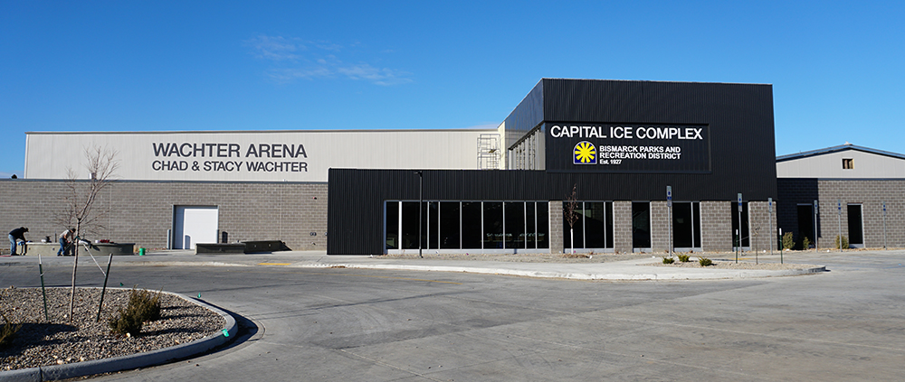 Capital Ice Complex/Schaumberg Arena and Wachter Arena – Bismarck