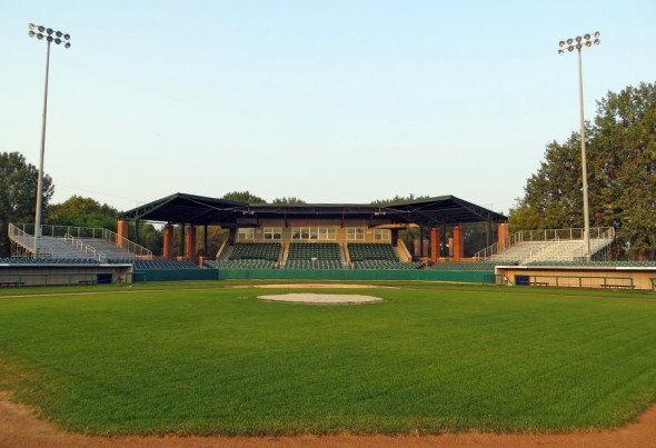 Bismarck Municial Ballpark 2015 2