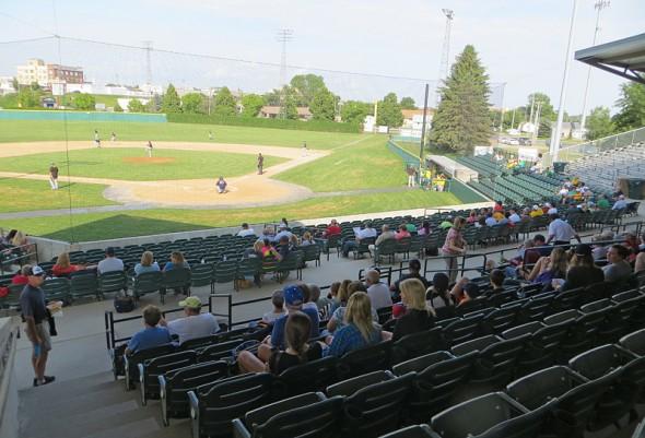 Bismarck Municipal Ballpark 2014