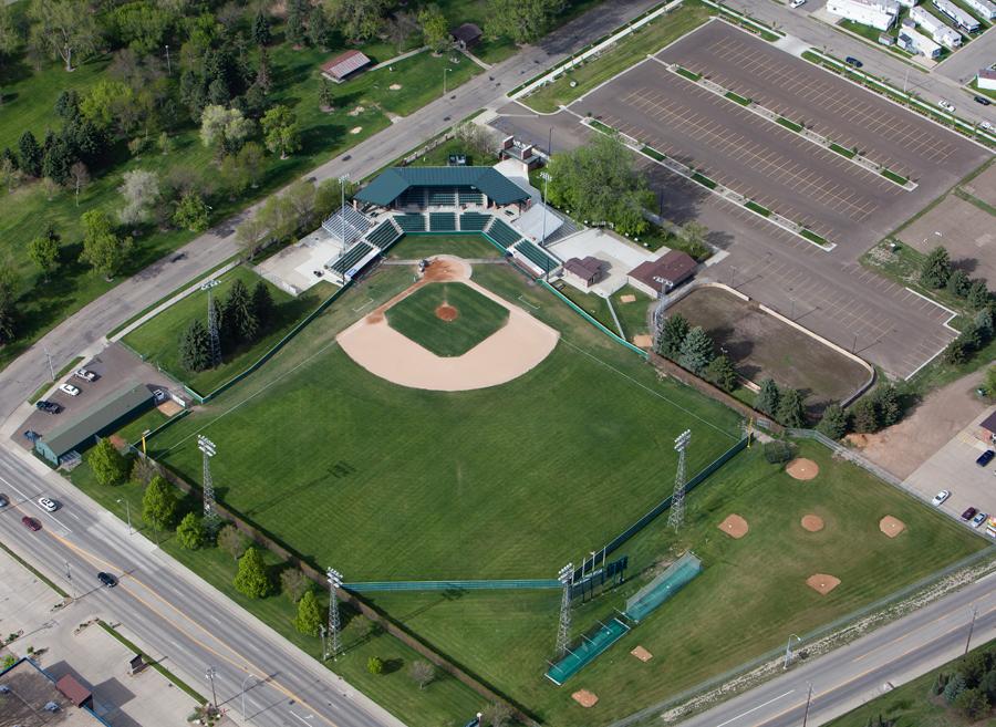 Bismarck Municipal Ballpark 2016