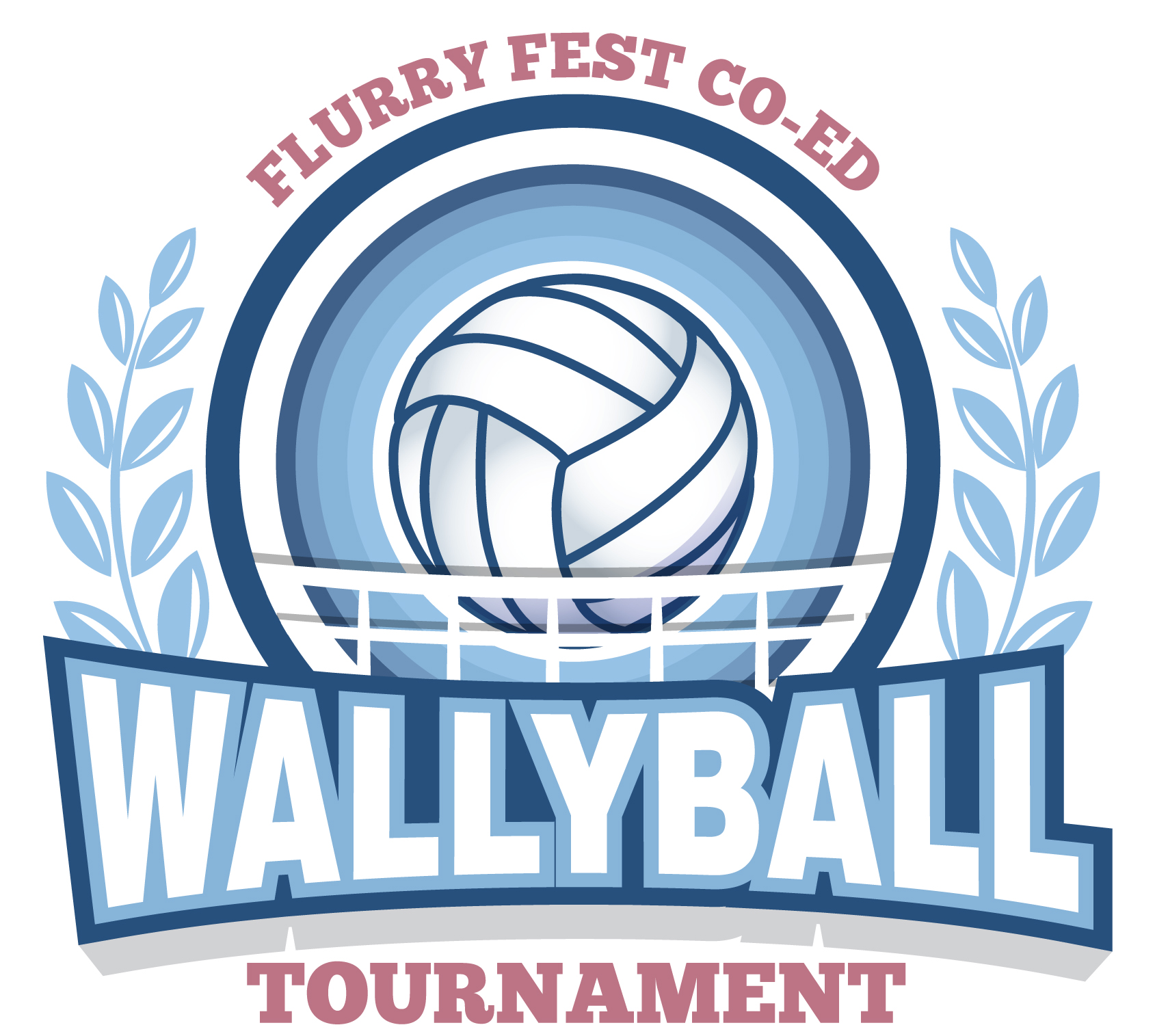 Coed Wallyball Tournament Flyer Feb 2016