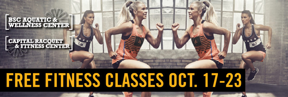 Free Fitness Classes Oct 2016