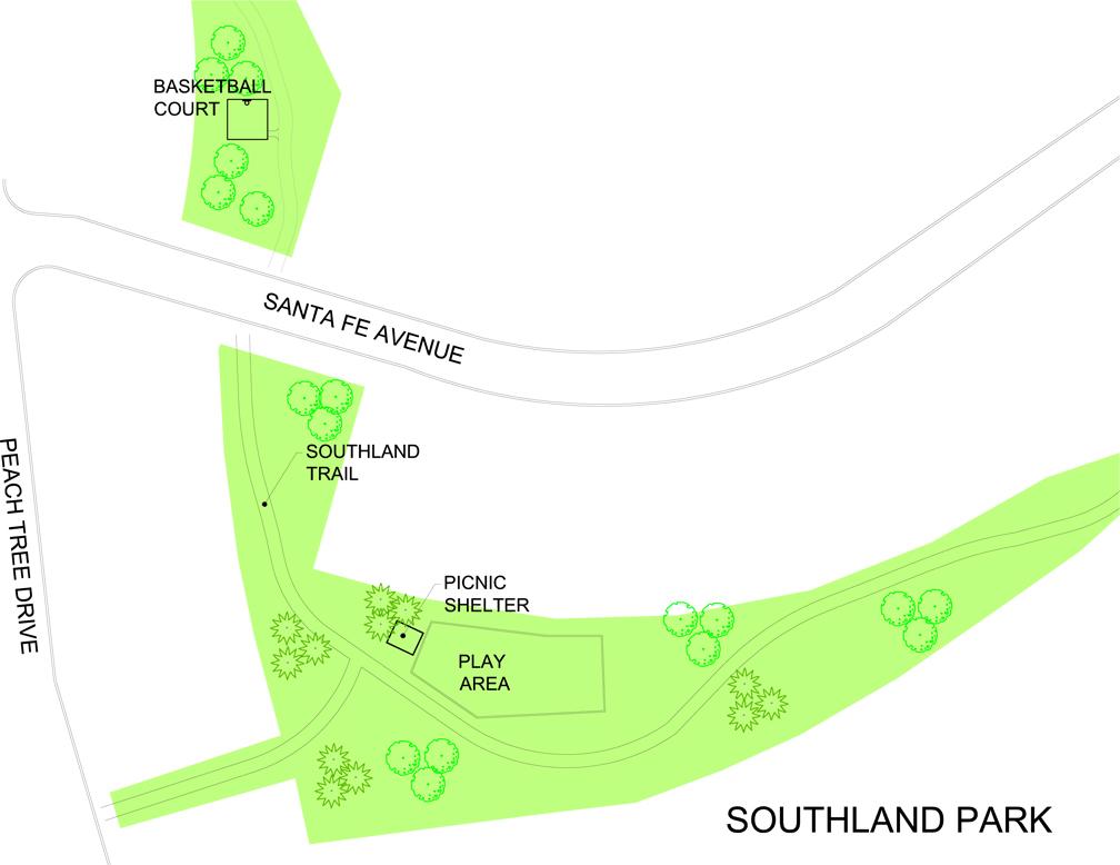 Southland Park - map 2016