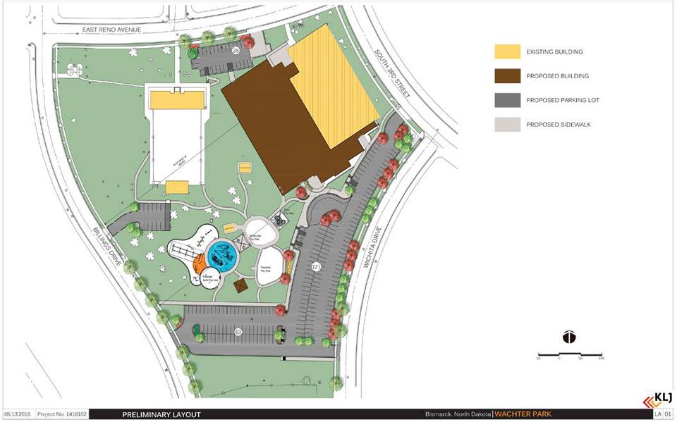 Wachter Park Site Plan 2016